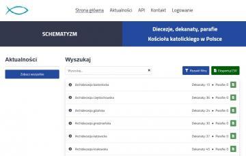 Nowa inicjatywa: schematyzm.katolicki.pl